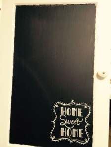 home chalk board
